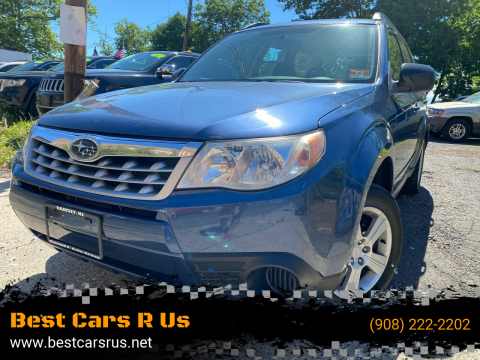 2011 Subaru Forester for sale at Best Cars R Us in Plainfield NJ