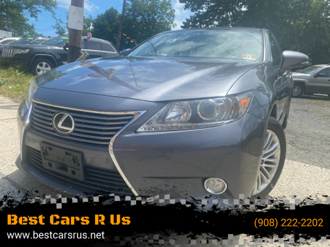 2013 Lexus ES 350 for sale at Best Cars R Us in Plainfield NJ