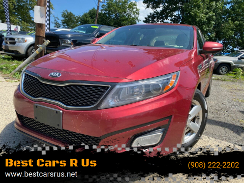 2014 Kia Optima for sale at Best Cars R Us in Plainfield NJ