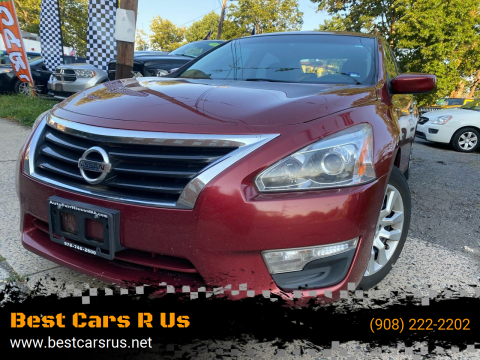 2013 Nissan Altima for sale at Best Cars R Us in Plainfield NJ