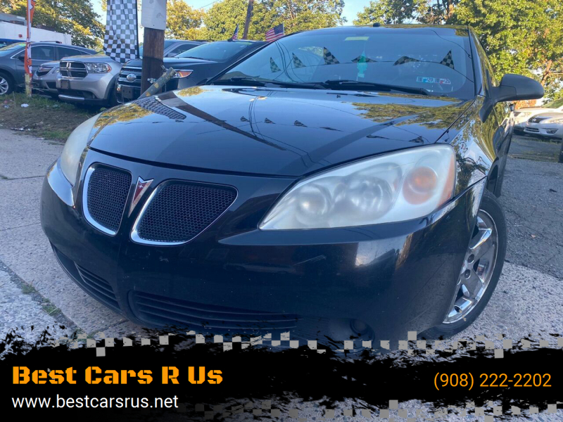 2007 Pontiac G6 for sale at Best Cars R Us in Plainfield NJ