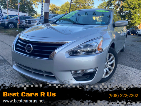 2015 Nissan Altima for sale at Best Cars R Us in Plainfield NJ