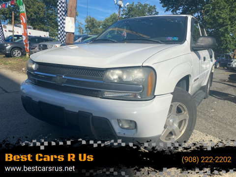 2003 Chevrolet TrailBlazer for sale at Best Cars R Us in Plainfield NJ