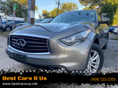 2012 Infiniti FX35 for sale at Best Cars R Us in Plainfield NJ