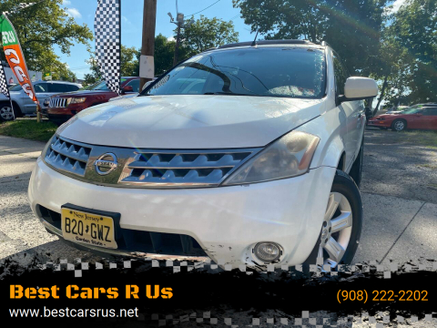 2007 Nissan Murano for sale at Best Cars R Us in Plainfield NJ