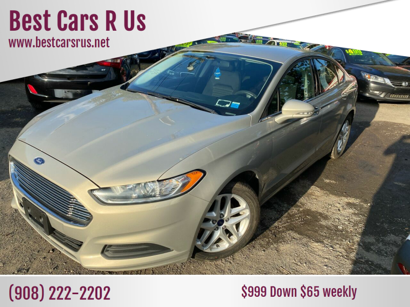2015 Ford Fusion for sale at Best Cars R Us in Plainfield NJ