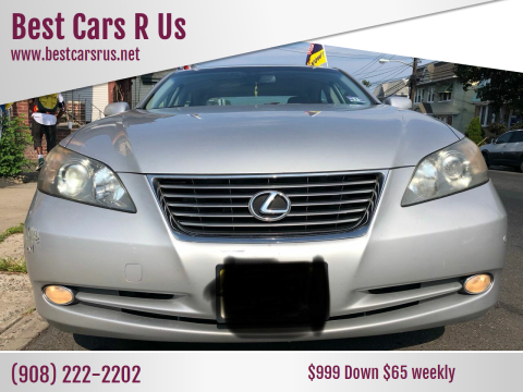 2008 Lexus ES 350 for sale at Best Cars R Us in Plainfield NJ
