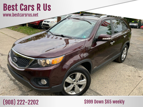 2012 Kia Sorento for sale at Best Cars R Us in Plainfield NJ