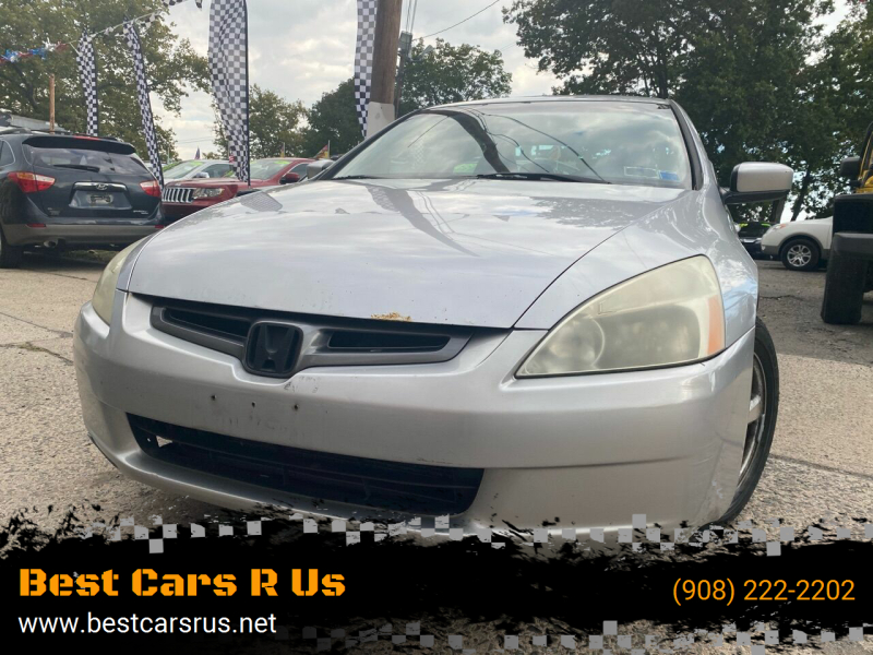 2004 Honda Accord for sale at Best Cars R Us in Plainfield NJ