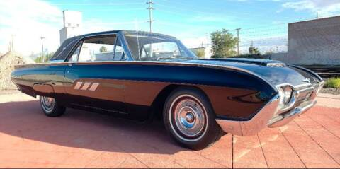 1963 Ford Thunderbird for sale at Silver Creek Classics LLC in Maple Lake MN