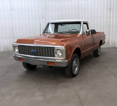 1971 Chevrolet C/K 10 Series for sale at Silver Creek Classics LLC in Maple Lake MN