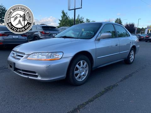 2002 Honda Accord for sale in Kent, WA