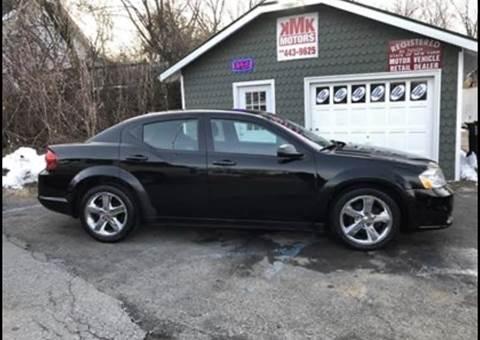 2013 Dodge Avenger SE for sale at KMK Motors in Latham NY