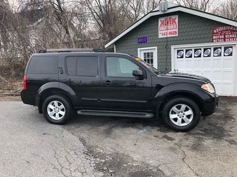 2008 Nissan Pathfinder for sale at KMK Motors in Latham NY