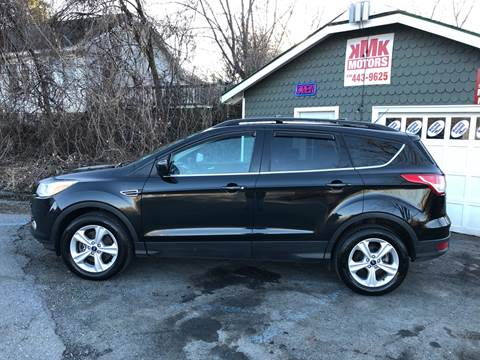 2013 Ford Escape for sale at KMK Motors in Latham NY