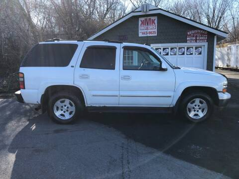 2004 Chevrolet Tahoe for sale at KMK Motors in Latham NY