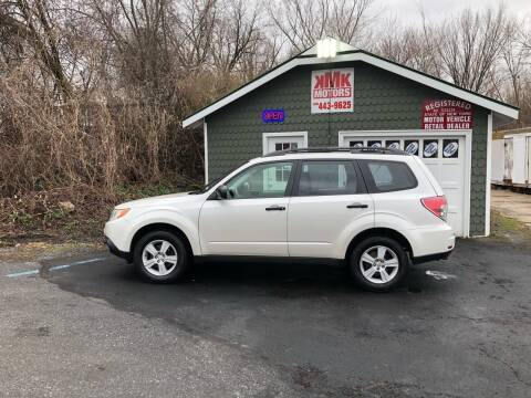 2011 Subaru Forester for sale at KMK Motors in Latham NY