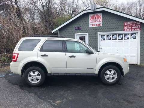2008 Ford Escape for sale at KMK Motors in Latham NY
