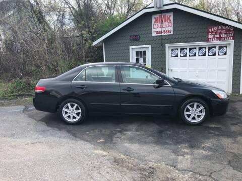 2004 Honda Accord for sale at KMK Motors in Latham NY