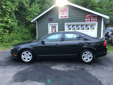 2011 Ford Fusion for sale at KMK Motors in Latham NY