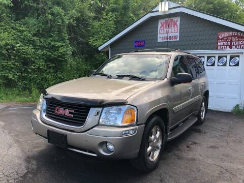 2002 GMC Envoy for sale at KMK Motors in Latham NY