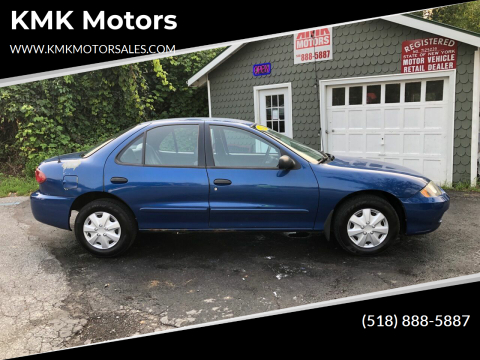2004 Chevrolet Cavalier for sale at KMK Motors in Latham NY