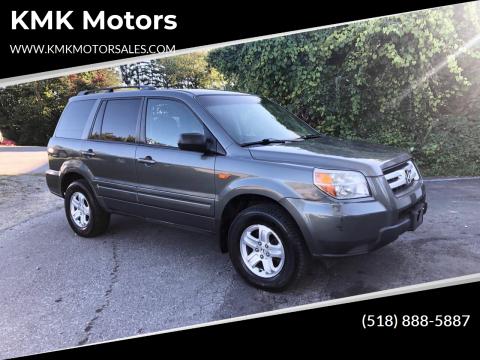 2008 Honda Pilot for sale at KMK Motors in Latham NY