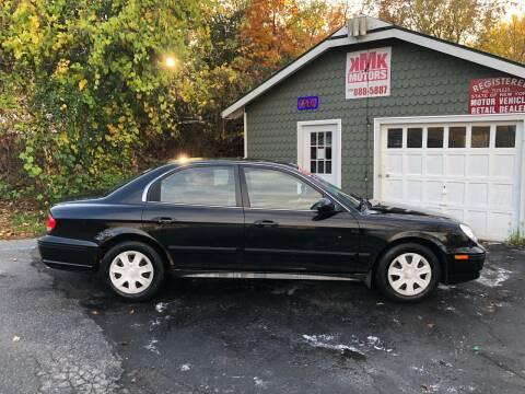 2003 Hyundai Sonata for sale at KMK Motors in Latham NY