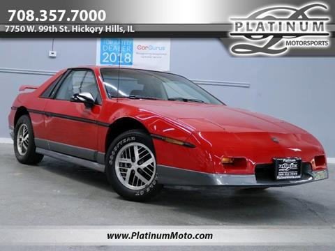 1985 Pontiac Fiero for sale in Hickory Hills, IL