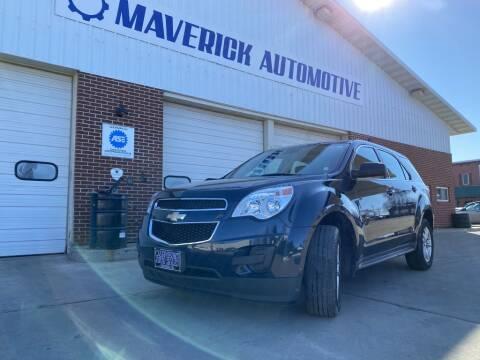 2015 Chevrolet Equinox LS for sale at Maverick Automotive in Arlington MN