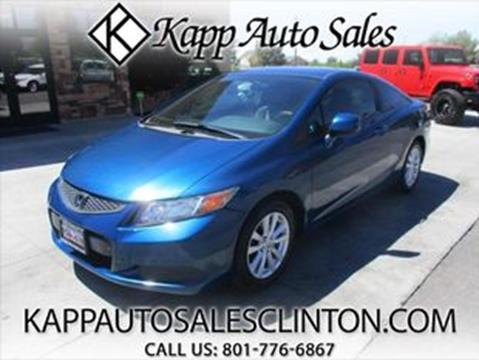 2012 Honda Civic for sale in Clinton, UT