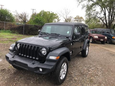 2018 Jeep Wrangler Unlimited for sale in Elkhart, IN