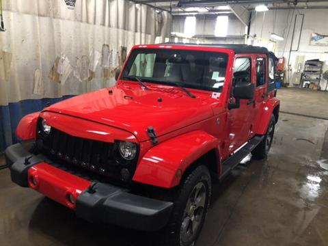 2016 Jeep Wrangler Unlimited for sale in Elkhart, IN