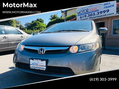 2008 Honda Civic for sale in Lemon Grove, CA