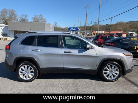 2016 Jeep Cherokee for sale in Cartersville, GA