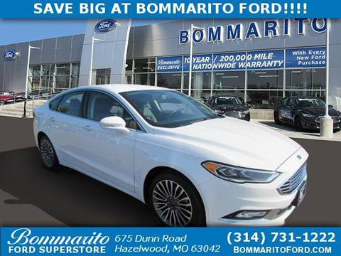 2017 Ford Fusion for sale in Hazelwood, MO