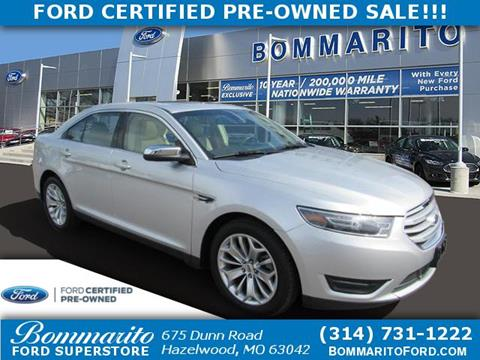 2018 Ford Taurus for sale in Hazelwood, MO
