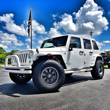2014 Jeep Wrangler Unlimited for sale in Tampa, FL