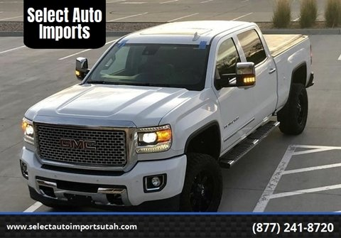 2016 GMC Sierra 3500HD for sale in Provo, UT