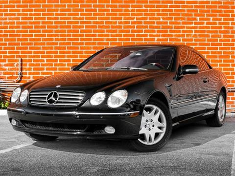 2002 Mercedes-Benz CL-Class for sale in Burbank, CA