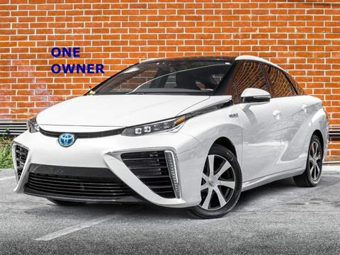 2016 Toyota Mirai for sale in Burbank, CA