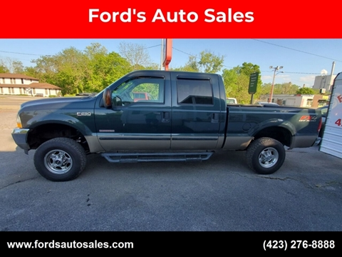2004 Ford F-250 Super Duty for sale at Ford's Auto Sales in Kingsport TN