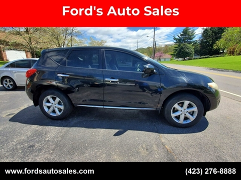 2009 Nissan Murano for sale at Ford's Auto Sales in Kingsport TN
