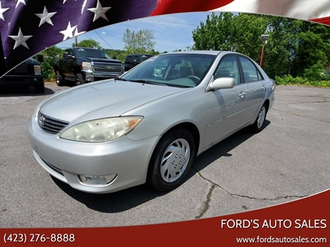 2006 Toyota Camry for sale at Ford's Auto Sales in Kingsport TN