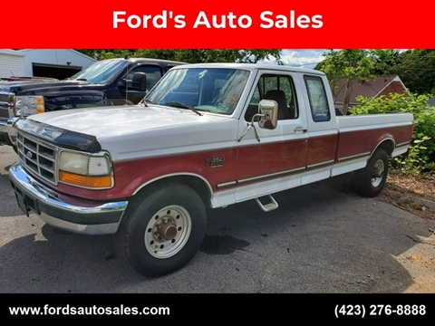 1995 Ford F-250 for sale at Ford's Auto Sales in Kingsport TN