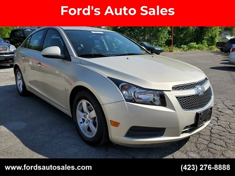 2014 Chevrolet Cruze for sale at Ford's Auto Sales in Kingsport TN