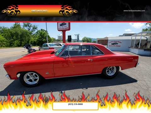 1966 Chevrolet Nova for sale at Ford's Auto Sales in Kingsport TN