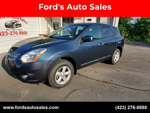 2013 Nissan Rogue for sale at Ford's Auto Sales in Kingsport TN
