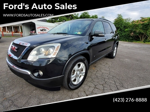2009 GMC Acadia for sale at Ford's Auto Sales in Kingsport TN