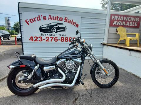2013 Harley Davidson FXDWG for sale at Ford's Auto Sales in Kingsport TN